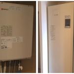 ガス給湯器と電気温水器
